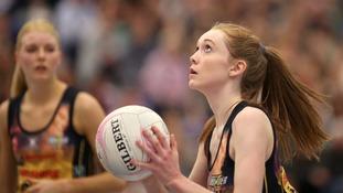 Manchester Thunder's Helen Housby