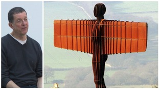 Artist Sir Antony Gormley spoke to ITV Tyne Tees about the Angel