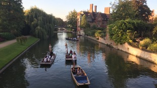 Cambridge is the UK's eighth kindest city