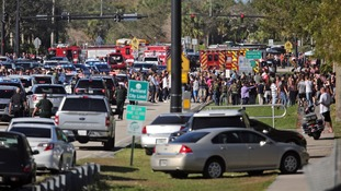Students described the suspected gunman as an 'outcast'.