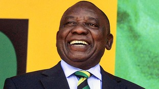 Cyril Ramaphosa was elected leader of the ANC in December.
