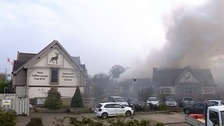 Breckland Lodge fire started accidentally