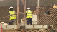 Around 75,000 homes are still waiting to be built.