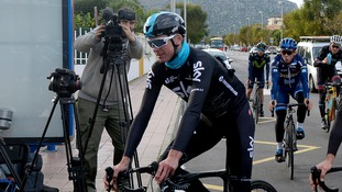 Chris Froome finishes seventh as team mate Poels takes stage two victory in Spain