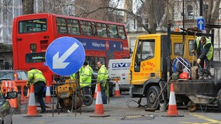 Utility companies to be hit with fines up to £2,500 for roadworks