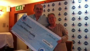 Couple win £1m on Euromillions raffle