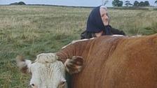 Funeral of Dales farmer Hannah Hauxwell