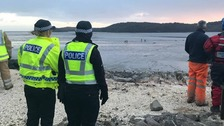 12-year-old boy rescued from mud on Solway coast