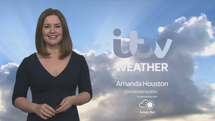Sunny periods, becoming cloudy this evening