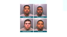 Four who stole man's bet shop winnings are jailed