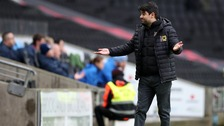 MK Dons manager Dan Miccichie is still without a win