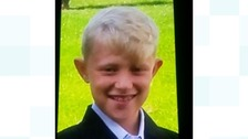 Connor Morris who has gone missing from Bramley