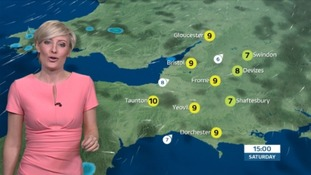 Sunny spells continue this afternoon, but a cold night