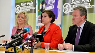 SF urges DUP to 'come back and talk'