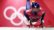 Kent's Lizzy Yarnold wins gold in Skeleton at Winter Olympics