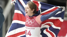 Lizzie Yarnold has successfully defended her title.