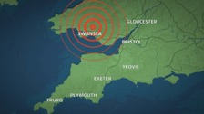 Earthquake felt across South West