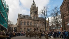 Chester-based soldiers' farewell to city