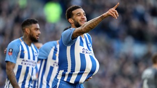 Brighton scored three goals as they cruised past a spirited Coventry City side and into an FA Cup quarter-final