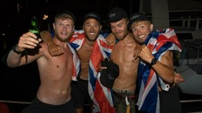 UK team set record pedalling across the Atlantic