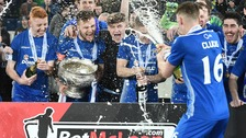Dungannon Swifts win League Cup for first senior trophy