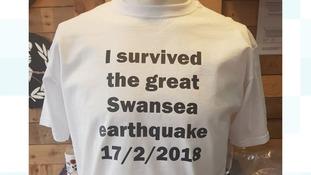 Swansea earthquake survivor