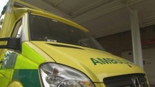 Man in hospital with serious injuries after hit and run