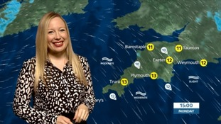 A rainy evening ahead for the South West
