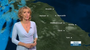 VIDEO: Sunday's forecast for the North East