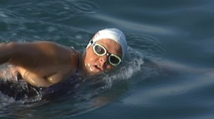 Jersey swimmer, Sally Minty-Gravett MBE,has become the oldest person in the world to complete a two-way swim across the English Channel