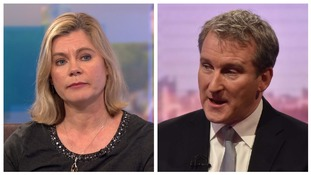 Justine Greening and Damian Hinds