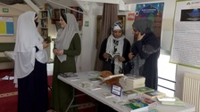 Mosque open day in Cambridge