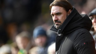 Norwich City manager Daniel Farke during the Sky Bet Championship match at Carrow Road, Norwich.