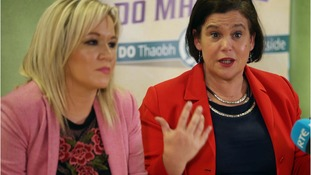 Michelle O'Neill and Mary Lou McDonald will meet the UK and Irish leaders.