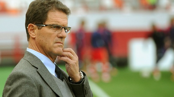 Fabio Capello in September 2012