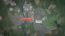 Map of Ruthin