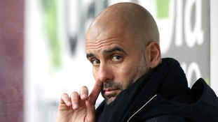 Manchester City boss Pep Guardiola has joked he wasn't good enough to play for Wigan ahead of their FA Cup tie
