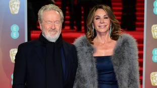 Sir Ridley Scott & Giannina Facio attending the EE British Academy Film Awards