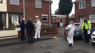 scene of murder investigation