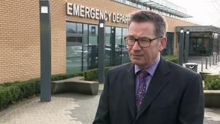 Winter pressures at hospital 'worst in 30 years' says senior doctor