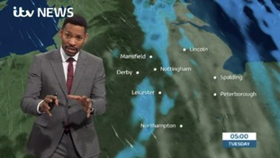 East Midlands Weather: Murky tonight with rain