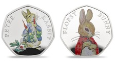 Peter Rabbit to appear on new Beatrix Potter 50p coins