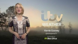 Weather: Tuesday's latest with Kerrie Gosney