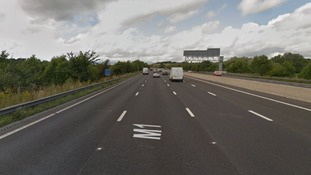 Dashcam appeal after death of pedestrian hit by truck on M1
