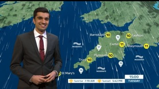 Dry & bright for the South West