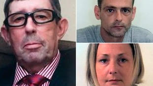 John Gogarty, left, was stabbed to death by Ian Birley and his accomplice Helen Nichols