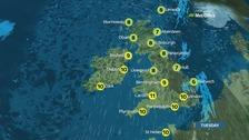 Cloudy and windy with further patchy rain and drizzle