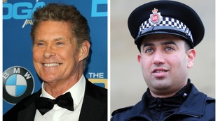David Hasselhoff wants to meet hero PC nicknamed 'The Hoff' after heroic river rescue