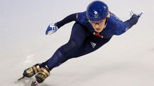 Speed-skater Elise Christie disqualified from Olympics