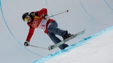 The last-placed Olympic skier everyone is talking about